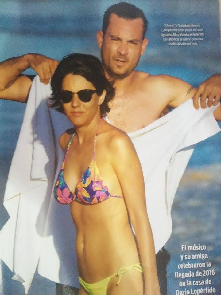 Quién es Soledad Álvarez Campos, la nueva novia de Chano Charpentier