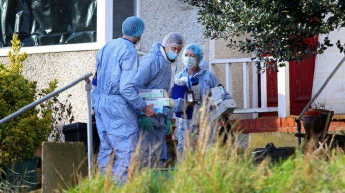 Encuentran enterrada en su jardín a famosa actriz británica