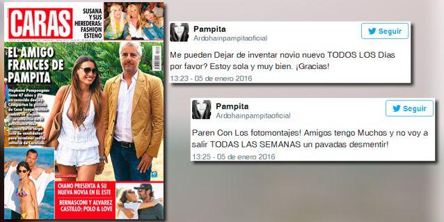 Pampita, con los tapones de Punta contra la tapa de una revista: ¿Pueden dejar de inventar?