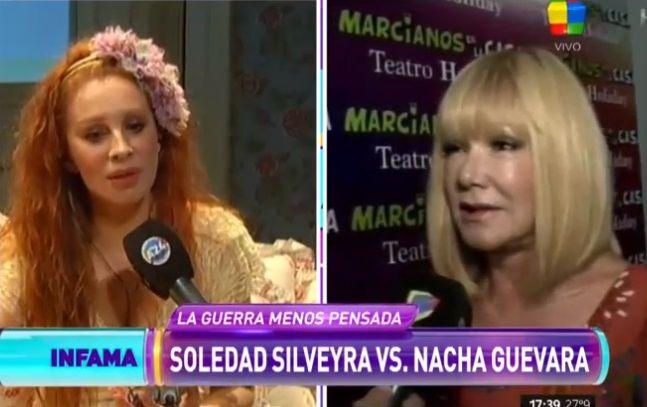 Soledad Silveyra reveló cuál fue la frase de la discordia con Nacha Guevara: Fue una puñalada