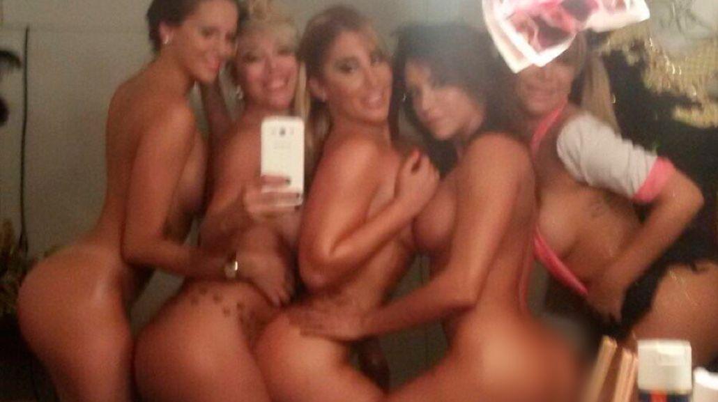 ¡Se encendió la temporada! Ayelén Paleo y las bailarinas de Segunda Vuelta, desnudas antes de la función