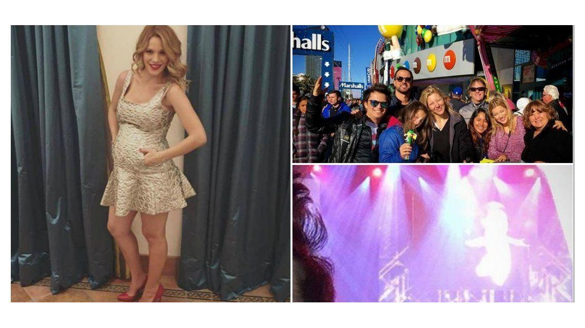 La familia unida: mirá el divertido festejo de Año Nuevo de los Lopilato y los Bublé en Las Vegas
