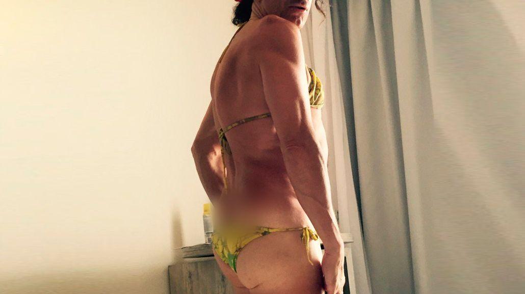 Favio Posca revolucionó las redes sociales con una foto en bikini: Nunca dejes de ser quien sos