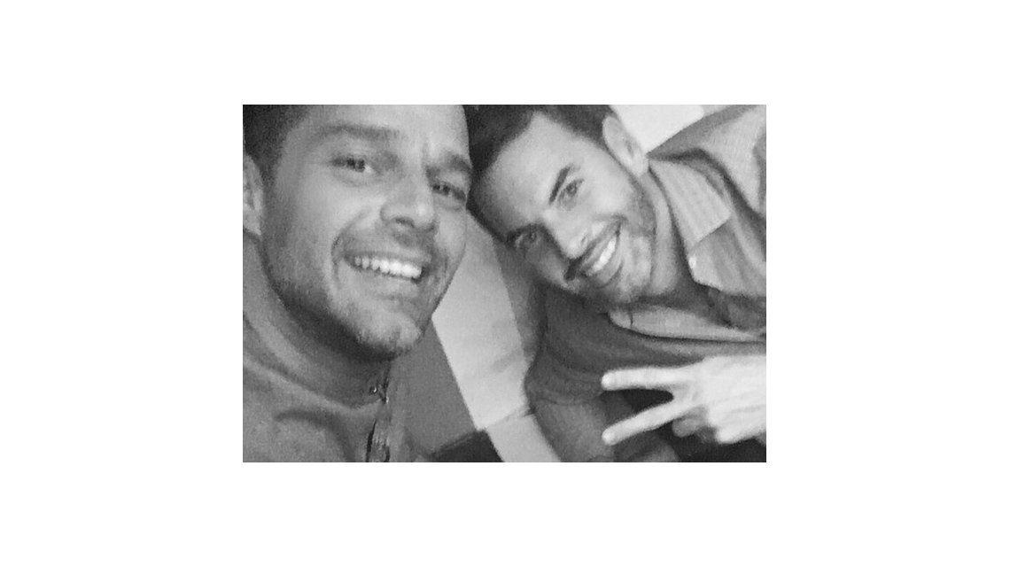 Ricky Martin en una encrucijada entre su ex y su ¿actual?, Pablo Alborán