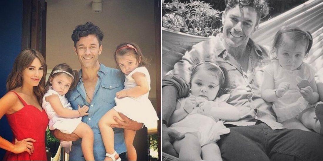 La familia de Mariano Martínez, presente en Esperanza Mía: mirá las niñas más dulces que participarán en la ficción