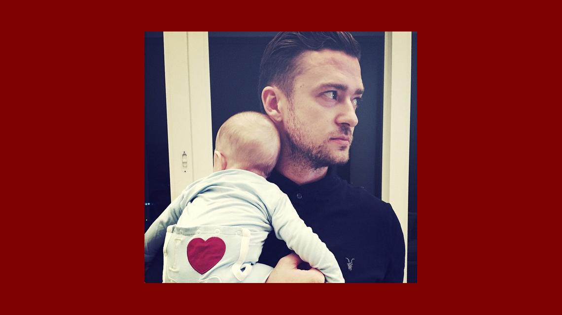 La tierna foto y el mensaje amor de Justin Timberlake en las redes sociales que enamoró a sus seguidoras de Instagram
