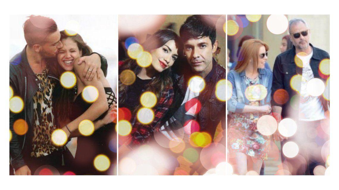 ¡Navidad in love! Las parejas de famosos que se formaron este año