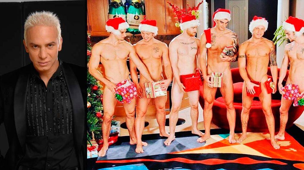 Flavio Mendoza anticipa la Navidad con una foto hot