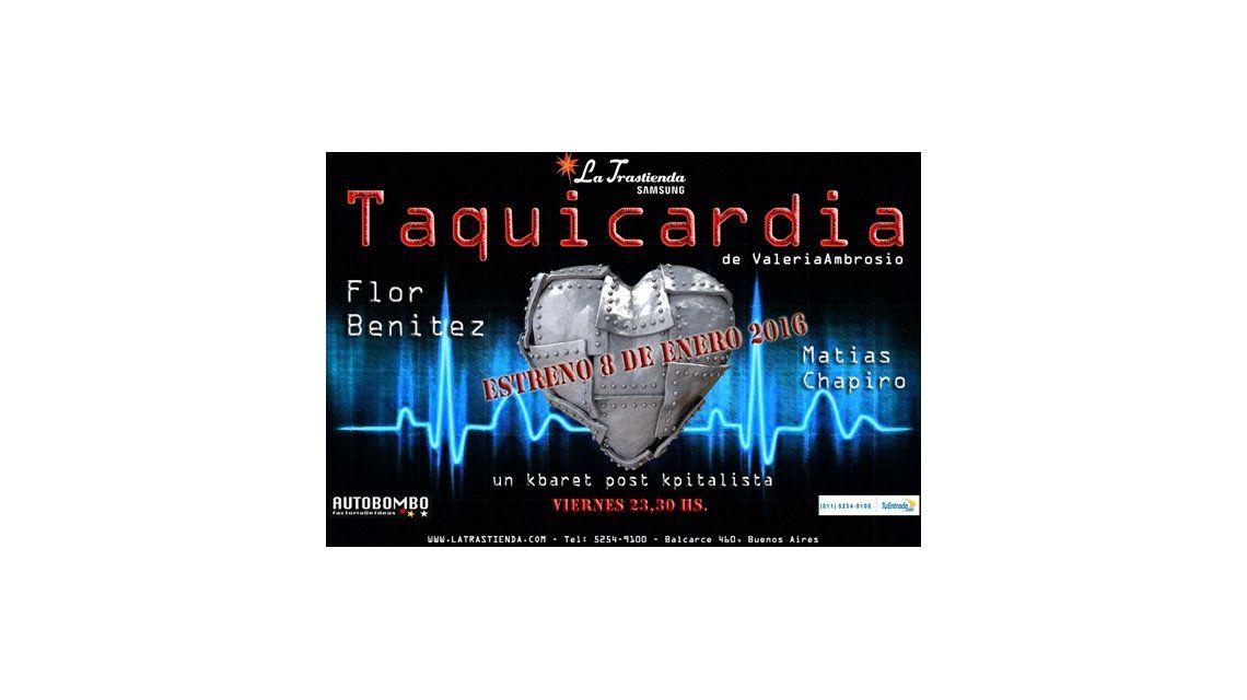 Taquicardia, el nuevo espectáculo de Valeria Ambrosio