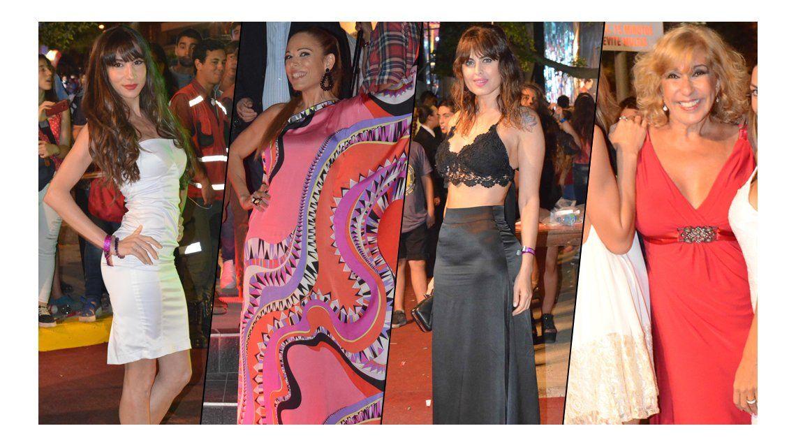 El look de los famosos en el lanzamiento de la temporada de Villa Carlos Paz