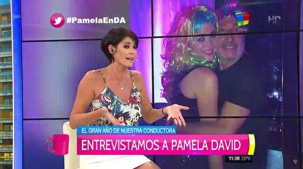 La inesperada confesión de Pamela David sobre su rol de conductora