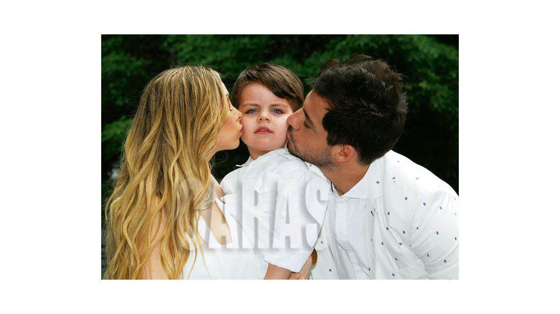 La producción de Francisco Delgado con Gisela Bernal y su hijo: Ian comenzó a decirme papá