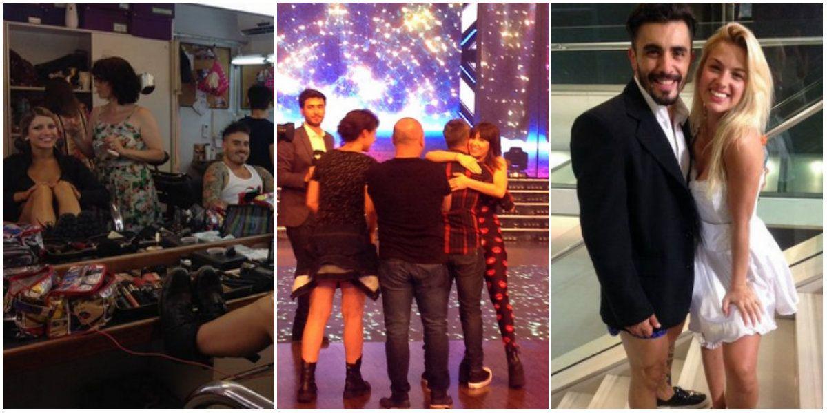 El backstage de la final del Bailando: todas las fotos