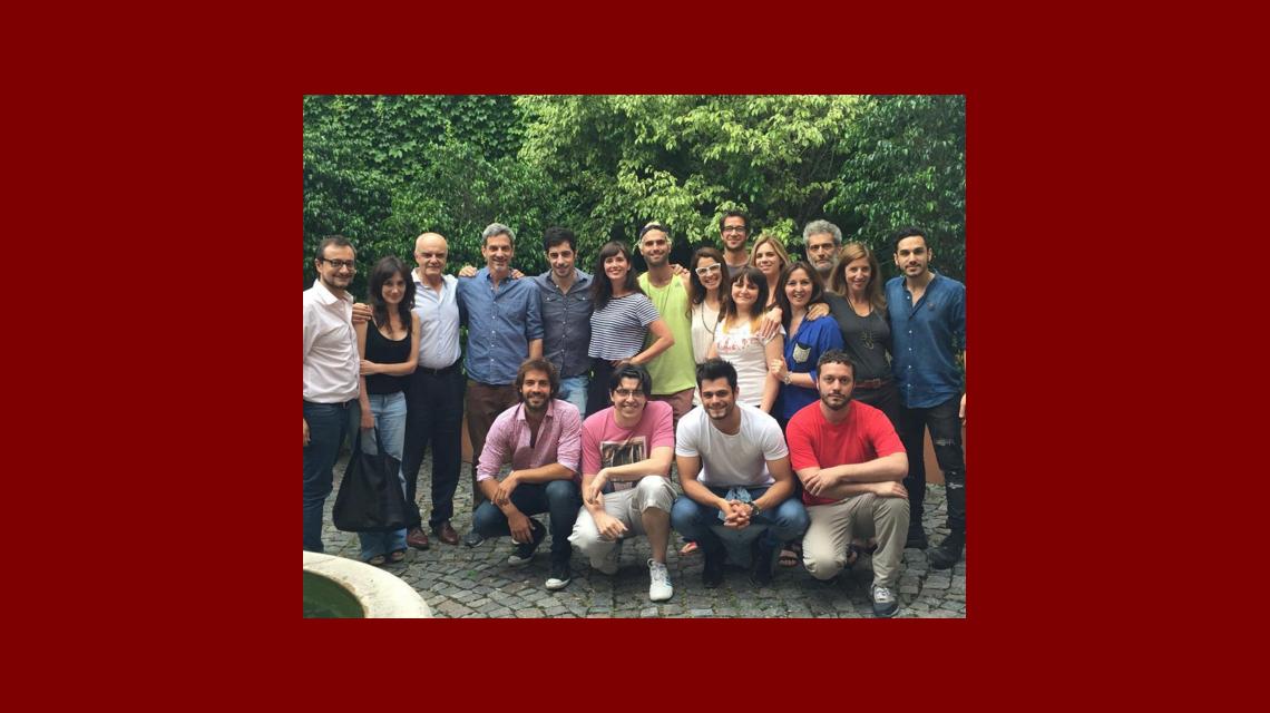 Griselda Siciliani comenzó las grabaciones de Educando a Nina: el tierno mensaje de Esteban Lamothe