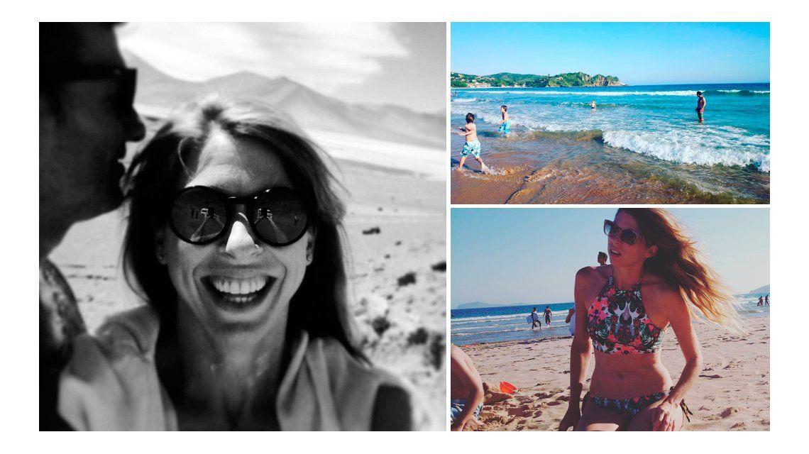 Florencia Bertotti, más renovada que nunca disfruta en Brasil antes de regresar a la televisión