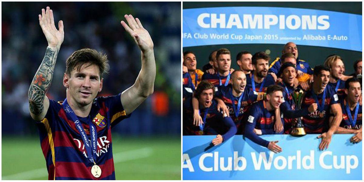El mensaje de Lionel Messi a River y el Barcelona por el triunfo en el Mundial de Clubes