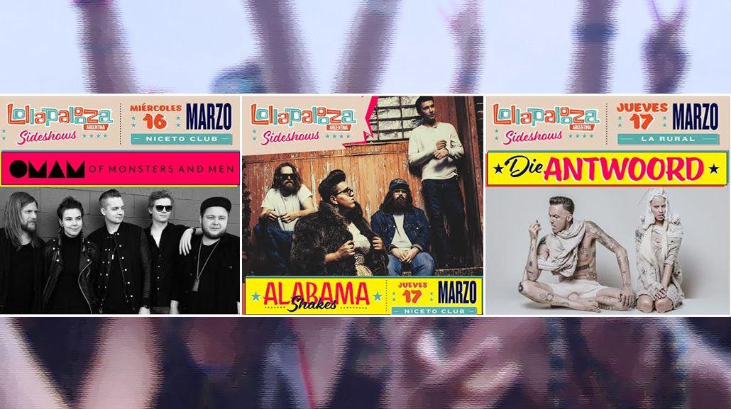 Lollapalooza Argentina anunció sus sideshows 2016