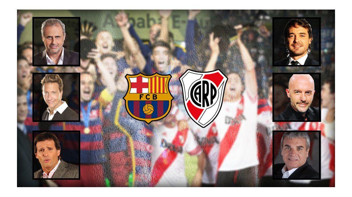 Así vivieron los famosos la final del Mundial de Clubes entre Barcelona y River Plate