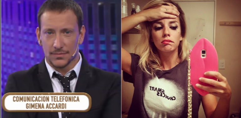 Gimena Accardi deschavó en vivo a Nicolás Vázquez con una revelación vergonzosa