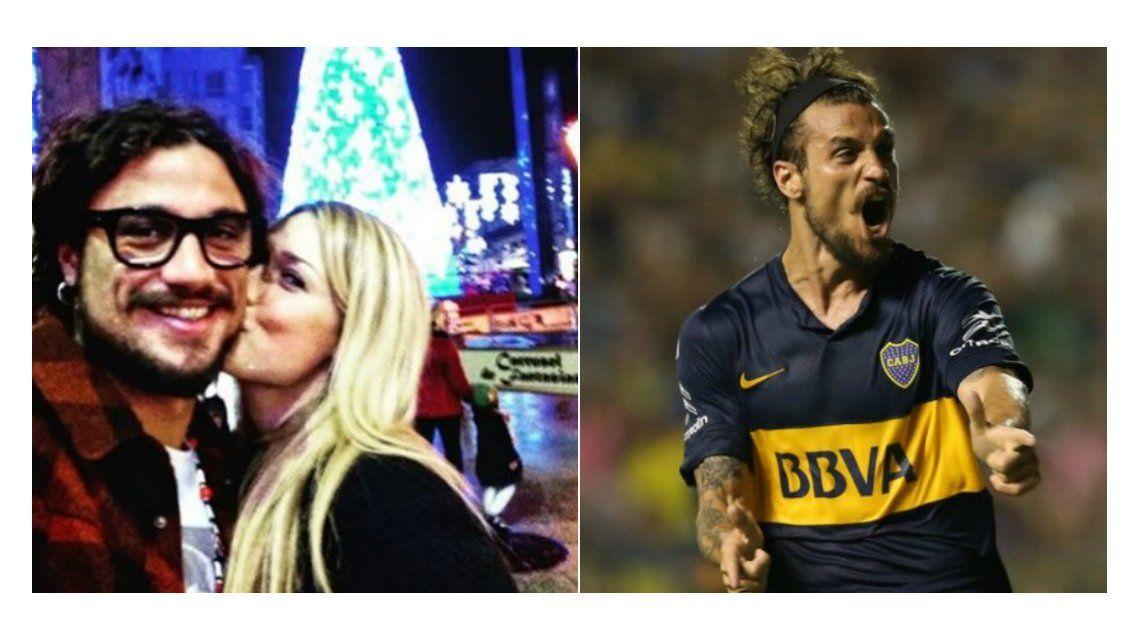 Daniel Osvaldo palpita la Navidad con su novia mientras definen si vivirán juntos en Argentina