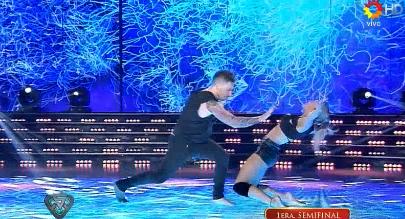 Así bailaron por última vez Fede Bal, Laurita Fernández y Gisela Bernal en la semifinal