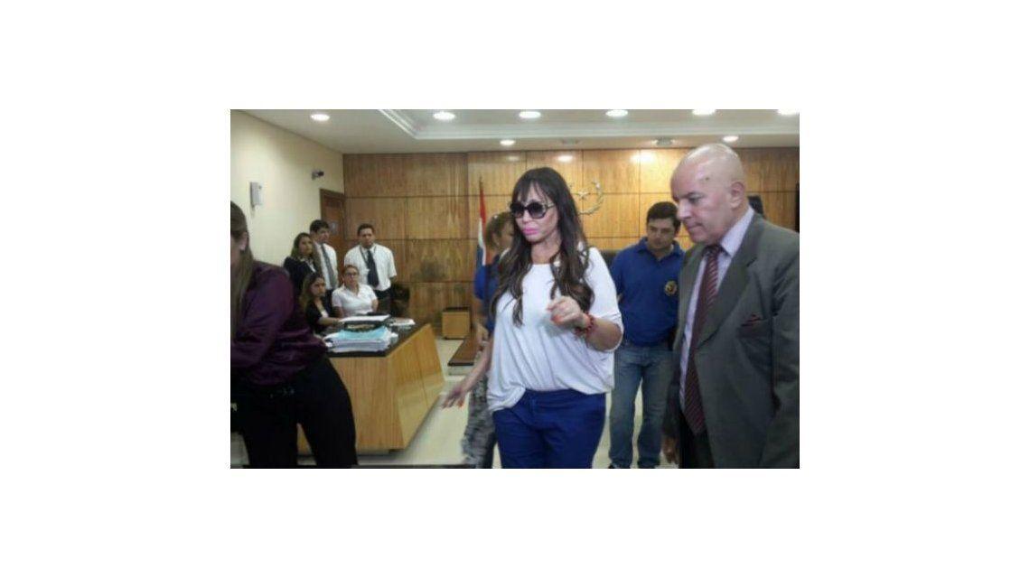 Aporte positivo para Moria Casán en Paraguay: el titular de la Senad calificó la causa como un circo