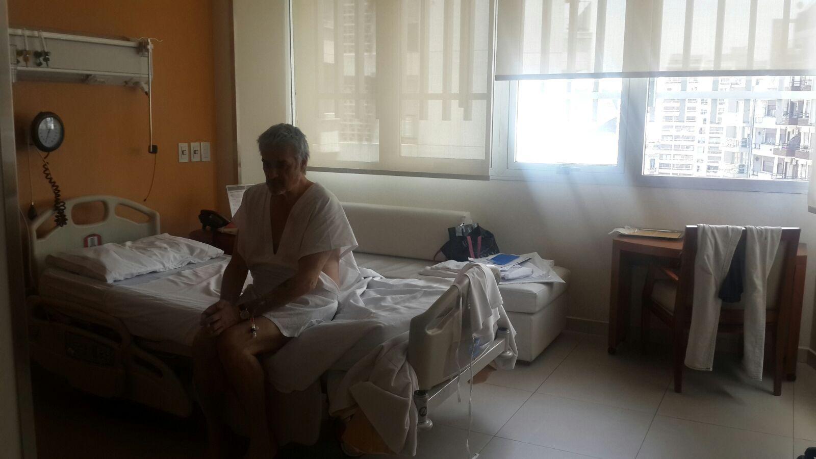Roberto Pettinato festejó su cumpleaños en el quirófano: ¿de qué se operó?