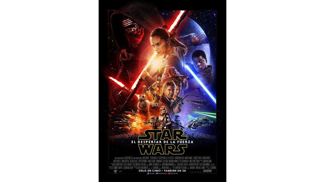 El estreno de Star Wars: el despertar de la fuerza