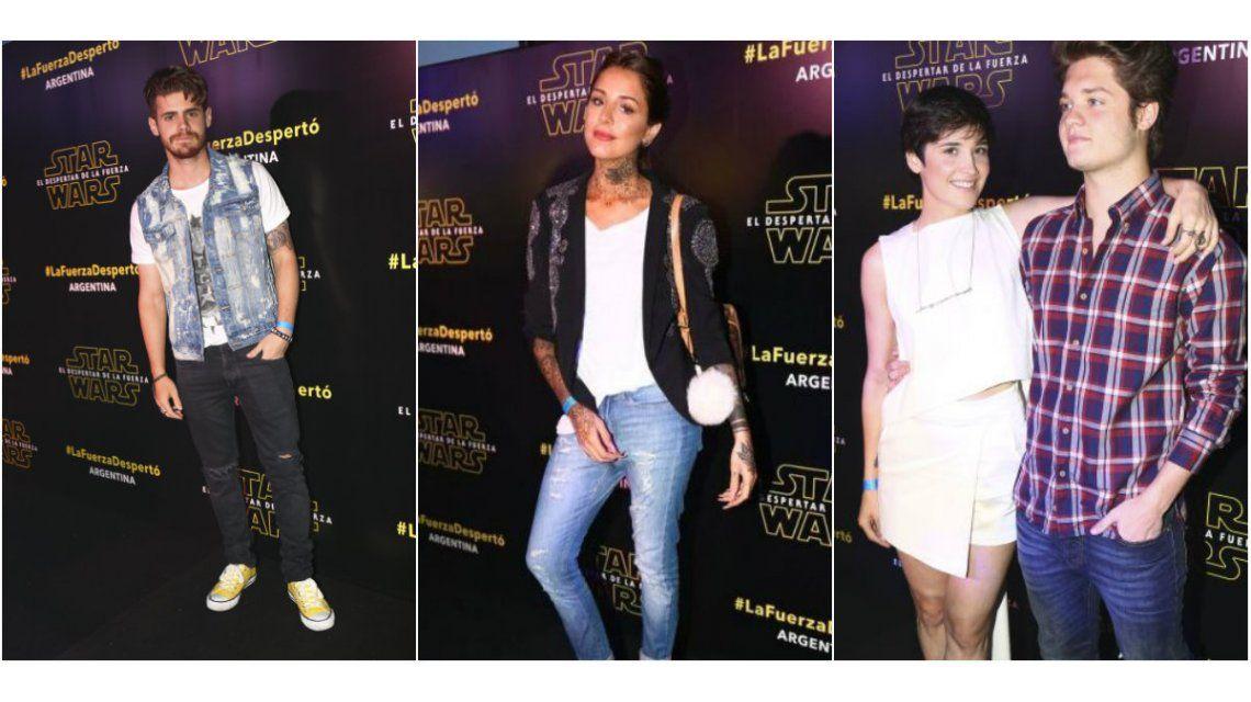 Las fotos de los famosos presentes en la avant premier de El despertar de la Fuerza
