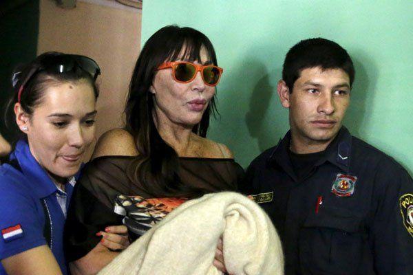 Moria Casán, declaración en la división Antidrogas y examen toxicológico: los detalles