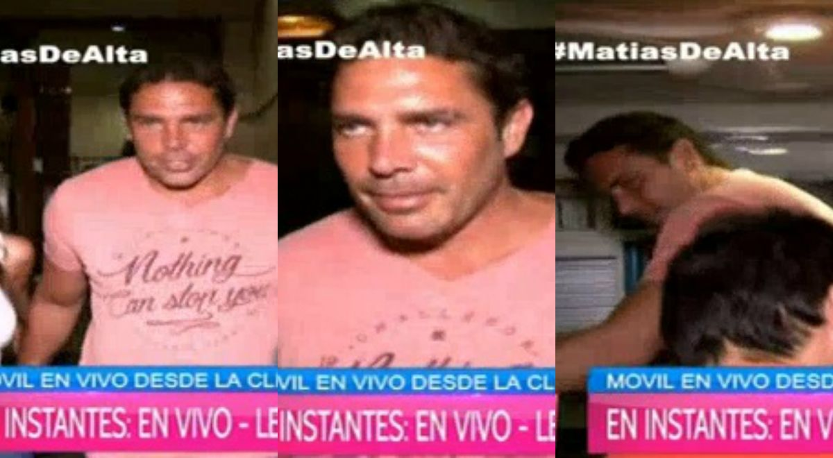 El video de la primera salida de Matías Alé tras la internación