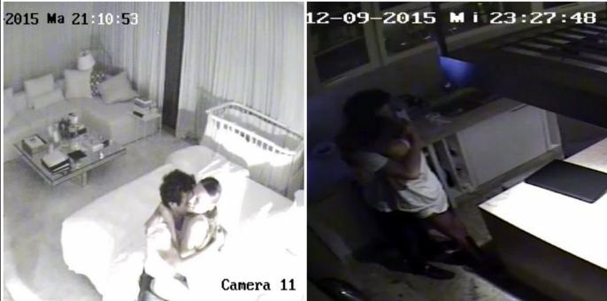 Las imágenes de Pampita y Benjamín Vicuña a los besos en su casa días antes de que lo encuentre con la China Suárez