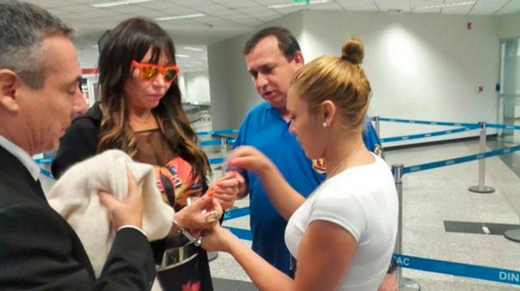 Moria Casán, detenida en Paraguay: Fue conforme a su orden de captura