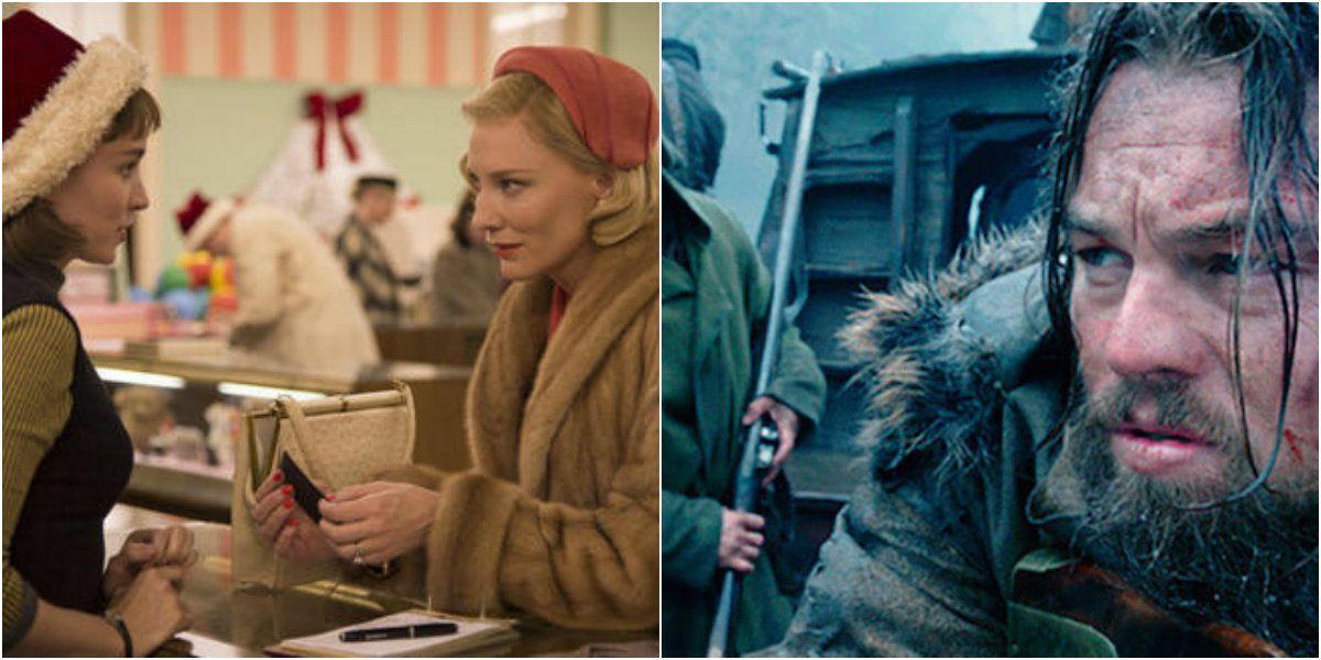 Carol y El Renacido, las películas favoritas para los Globos de Oro