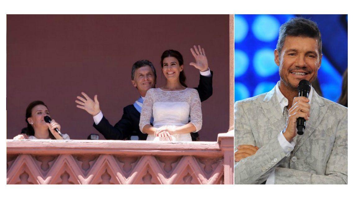 Gabriela Michetti cantó Gilda, Mauricio Macri bailó y Marcelo Tinelli los convocó a Showmatch