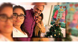 Rial, en familia: Después de cuatro años mis hijas quisieron armar el árbol