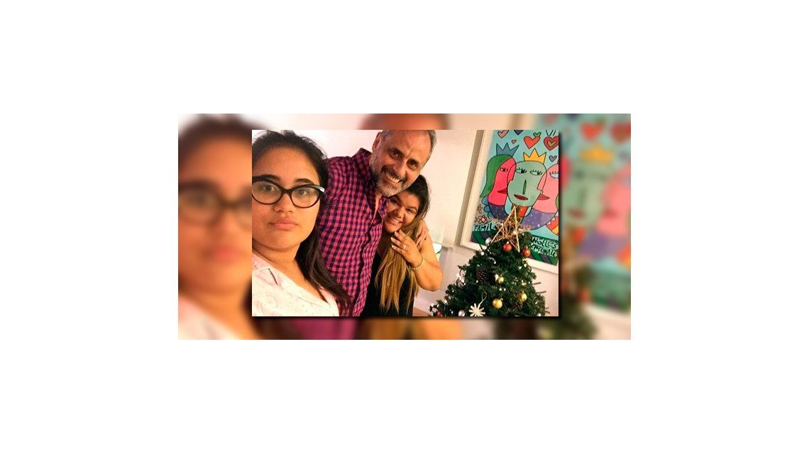 Las fotos familiares de Jorge Rial: Después de cuatro años mis hijas quisieron armar el árbol