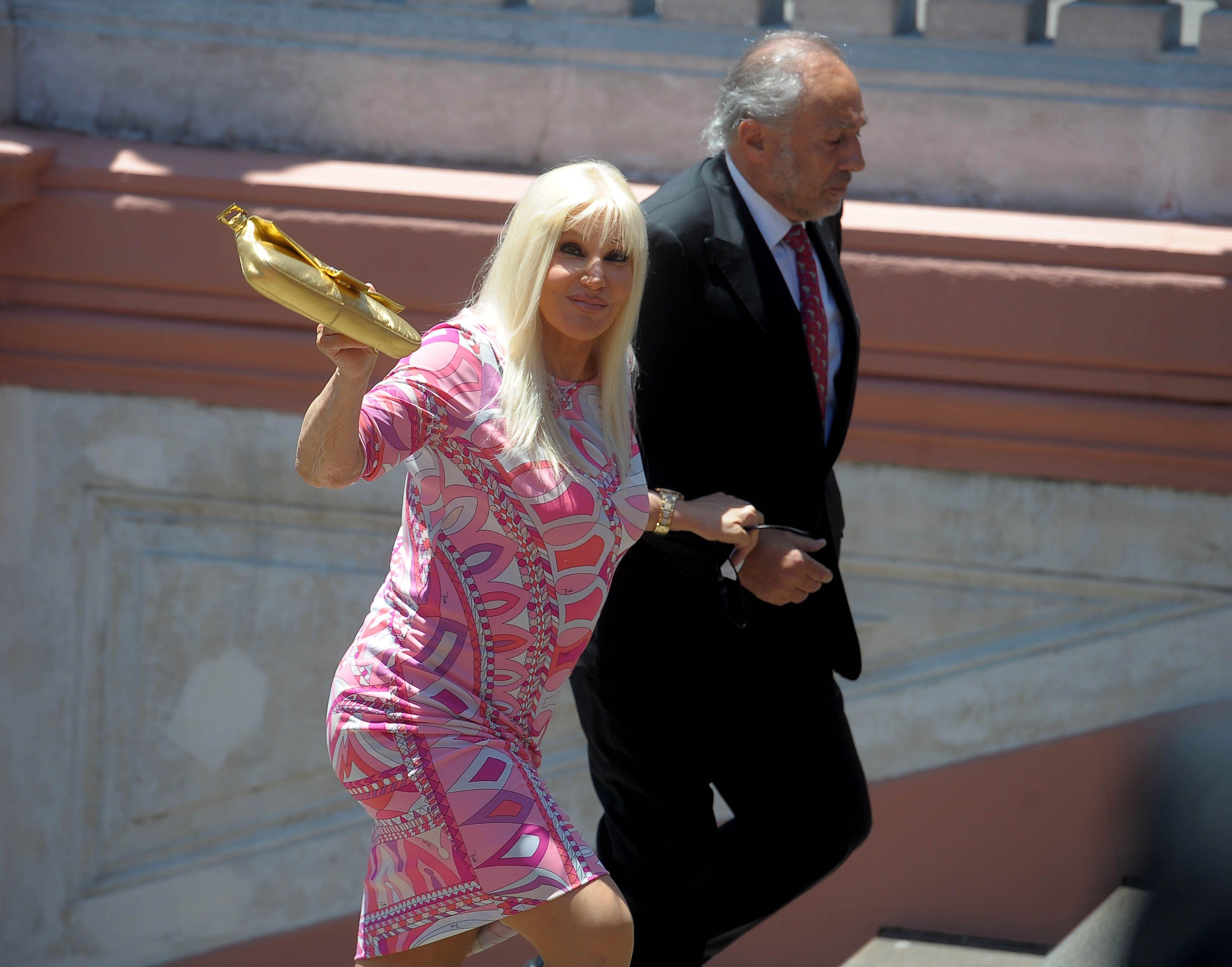 Los famosos presentes en la jura de Mauricio Macri en la Casa Rosada: Susana Giménez, en las primeras filas