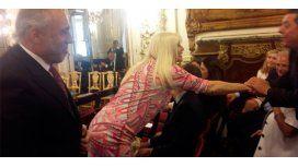 Los famosos presentes en la jura de Macri: Susana, en las primeras filas