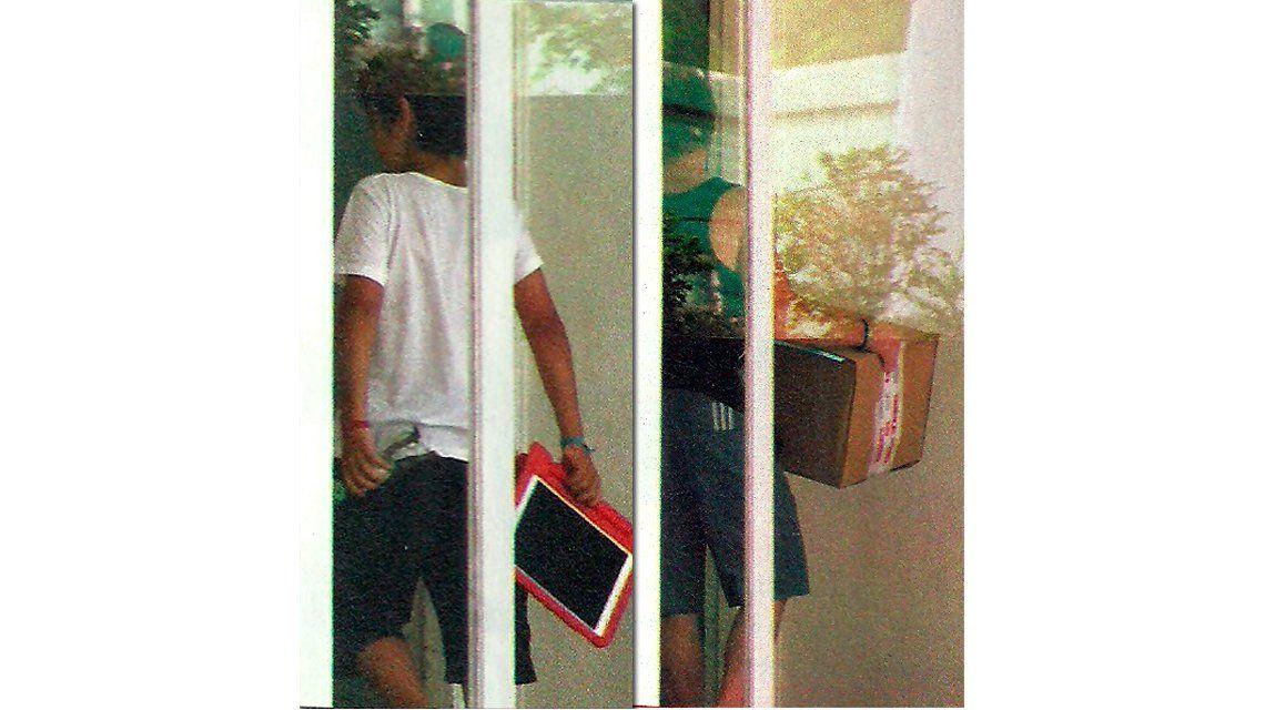El nieto de Diego Maradona se quedó a dormir en el departamento de Jorge Taiana