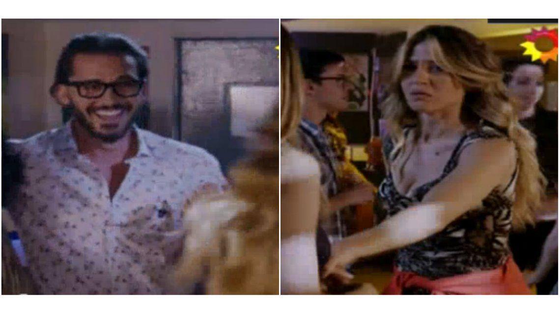 Desopilante escena de Esperanza Mía con guiño a la vida real: Jimena Barón creyó haber visto a Daniel Osvaldo en una disco