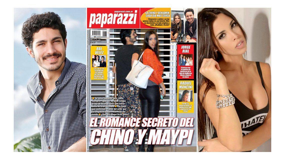 ¡Infraganti! La foto que confirma el romance del Chino Darín con Maipi Delgado