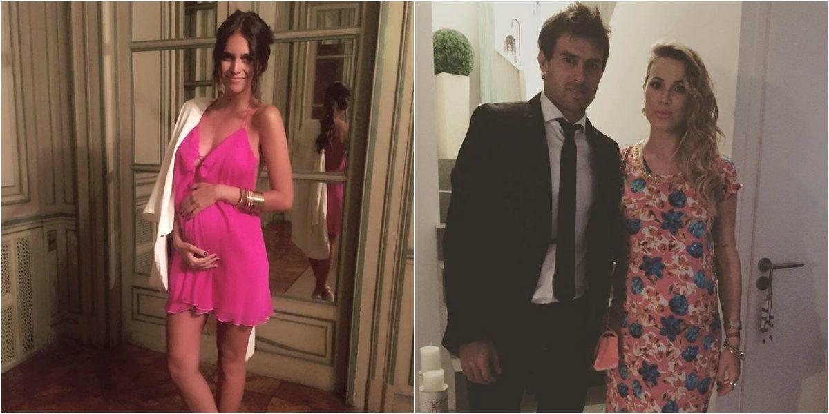 Mamitas sexies: los looks de embarazadas de Zaira Nara y Chechu Bonelli en un casamiento top