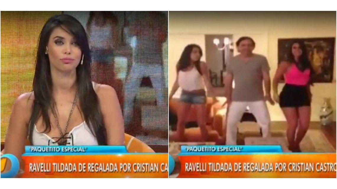 El video íntimo de Sabrina Ravelli y Cristian Castro: baile y coreografía en el cuarto de un hotel