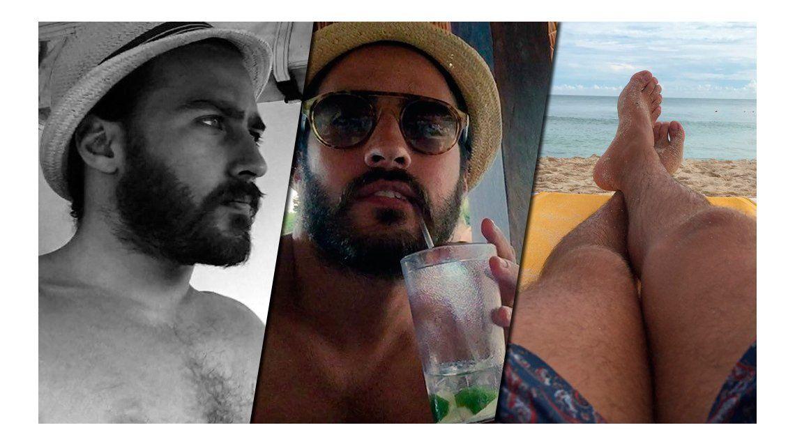 Galán perdido por el mundo: las sexies vacaciones de Nico Francella en México