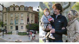 El cambio de vida de Carla Peterson y Lousteau con su hijo en Estados Unidos