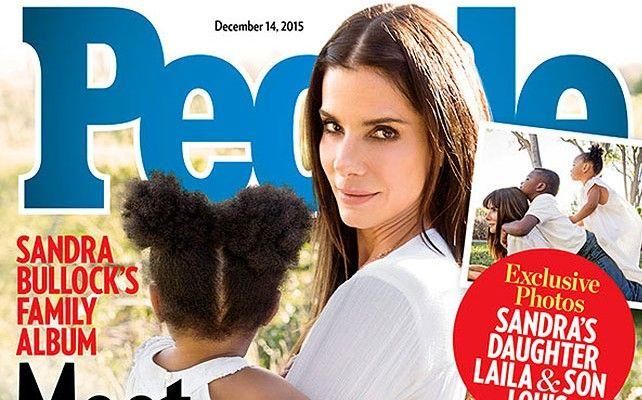 Sandra Bullock presentó a su hija adoptiva y reveló la discriminación sexista que se vive en la alfombra roja