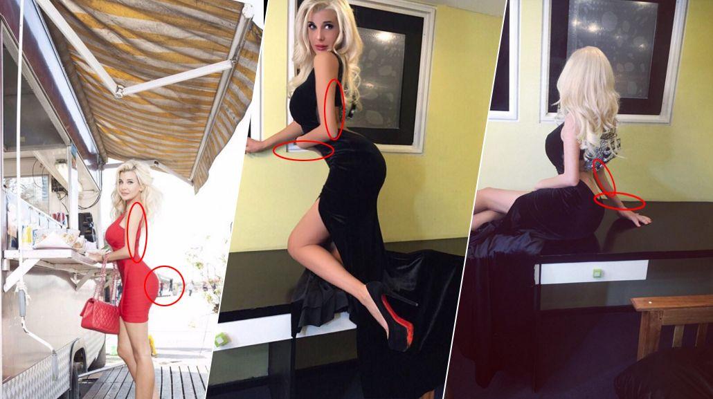 Charlotte Caniggia intentó ser una Barbie pero el Photoshop la dejó en evidencia: mirá los errores que cometió