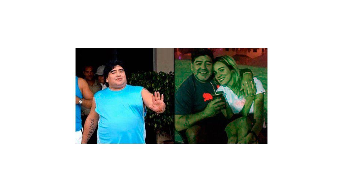 Diego Maradona mostró su nueva figura: bajó 15 kilos en 18 días