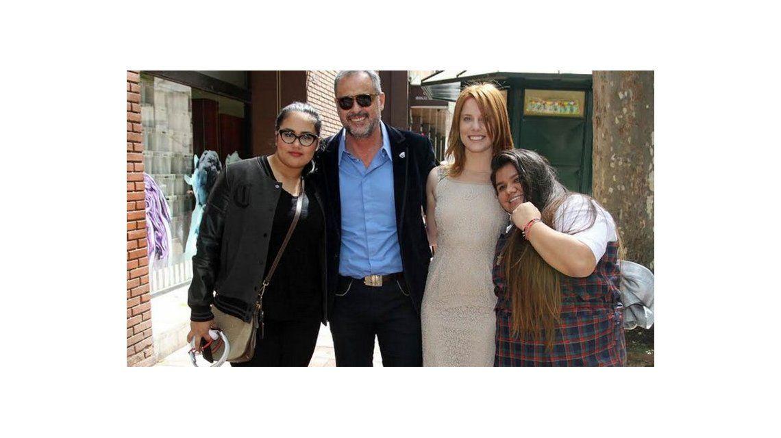 Las vacaciones en familia de Jorge Rial y Agustina Kämpfer con Rocío y Morena: un mes a puro viaje por Estados Unidos